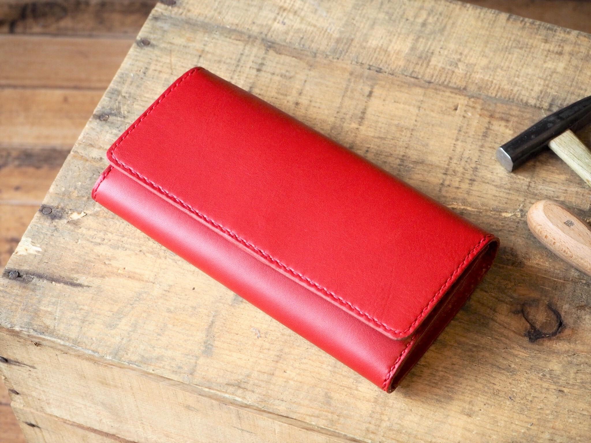 (カラーオーダー)L字ファスナーコインケースの長財布