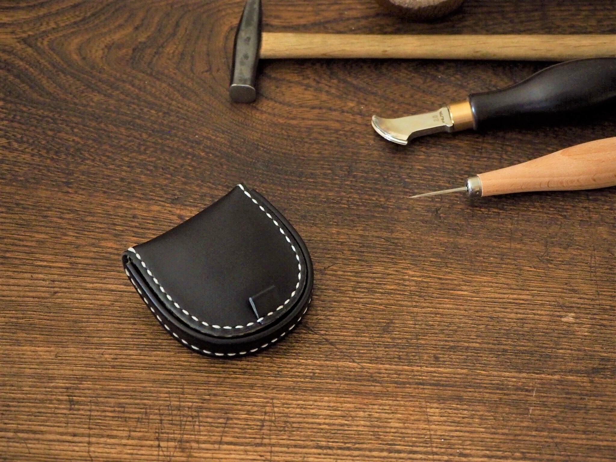 (カラーオーダー)馬蹄型コインケース
