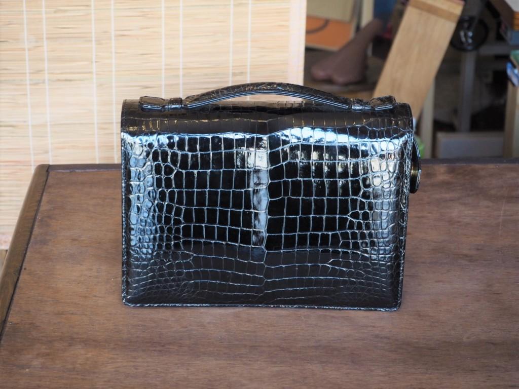 (リメイク前)クロコダイルハンドバッグ