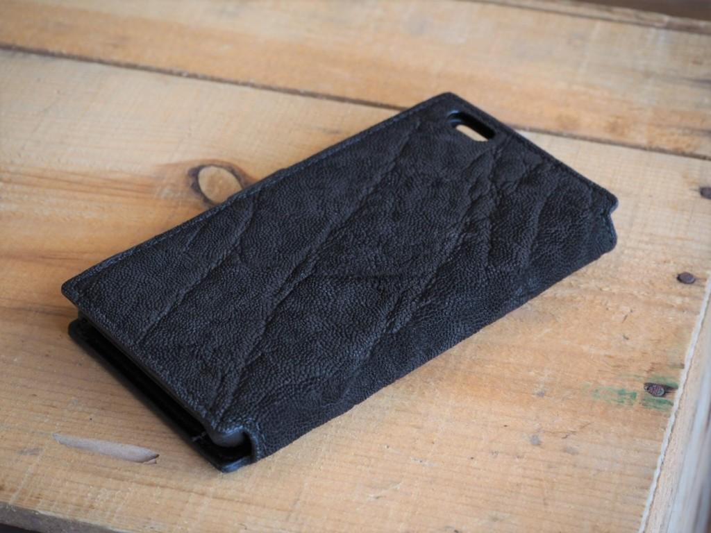 (フルオーダーメイド)ゾウ革のiphone6Splus用ケース