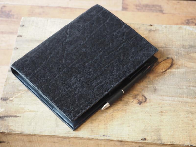 (フルオーダーメイド)ゾウ革 システム手帳(A5サイズ)
