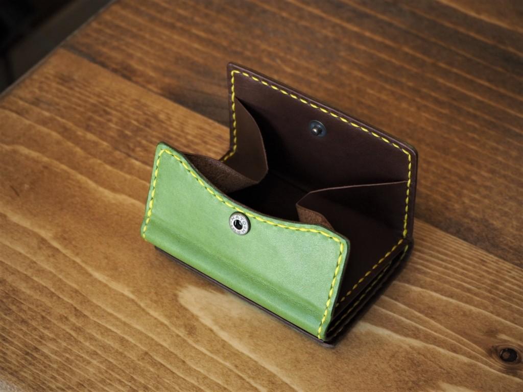 (フルオーダーメイド)コンパクト三つ折り財布(コインケース)
