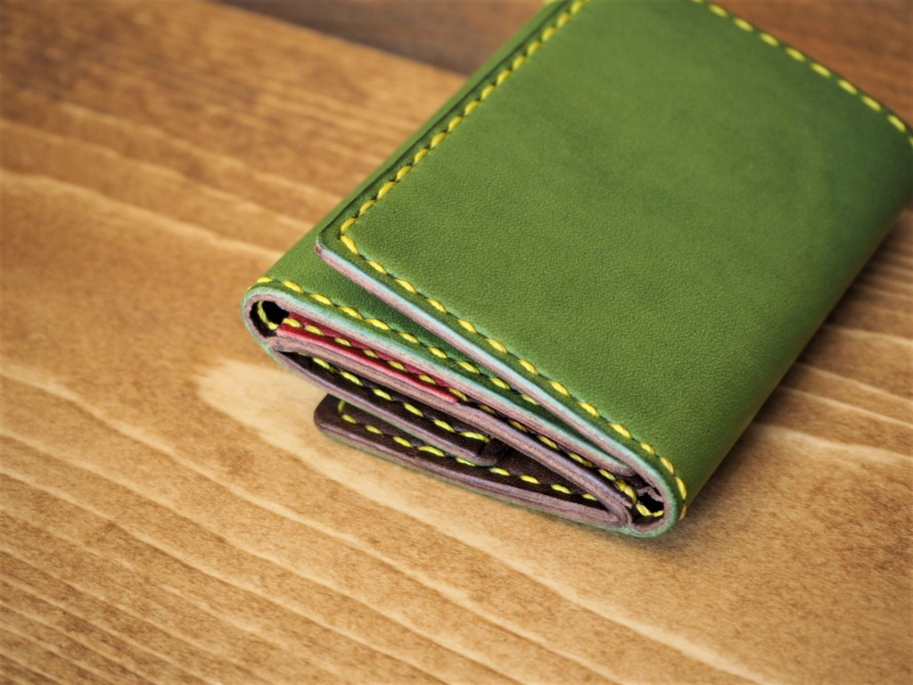 (フルオーダーメイド)コンパクト三つ折り財布