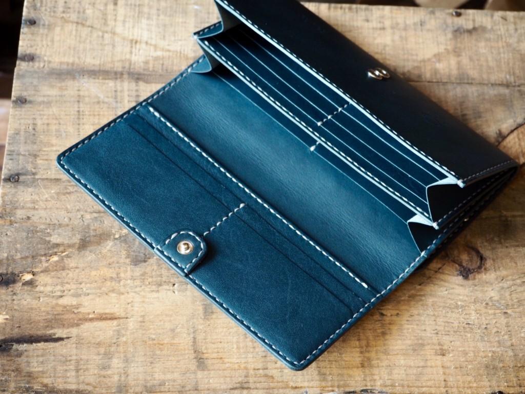 がま口付き長財布(内側)