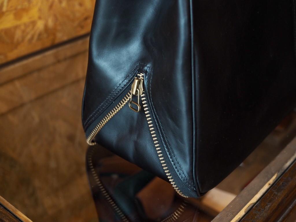 (フルオーダーメイド)ファスナーマチ付ビジネスバッグ