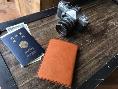 (フルオーダーメイド)パスポートケース①