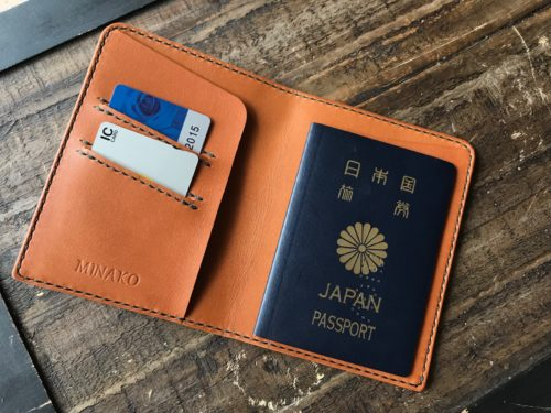 (フルオーダーメイド)パスポートケース②