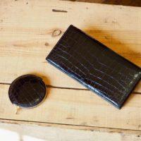 (リメイクオーダー)クロコダイルバッグ→長財布&コインケース