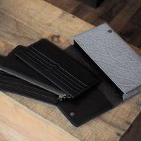 (フルオーダーメイド)ゾウ革ポケット分割式長財布