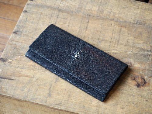(フルオーダーメイド)薄型エイ革長財布