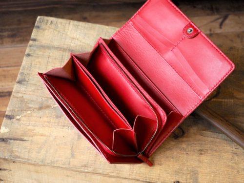 (定番商品)L字ファスナー付長財布