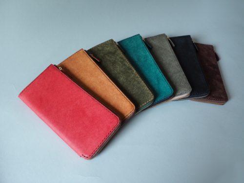 (定番品)薄型L字ファスナー長財布
