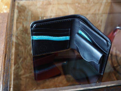 (カスタムオーダー)ゾウ革二つ折り財布
