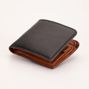二つ折り財布 ブラック