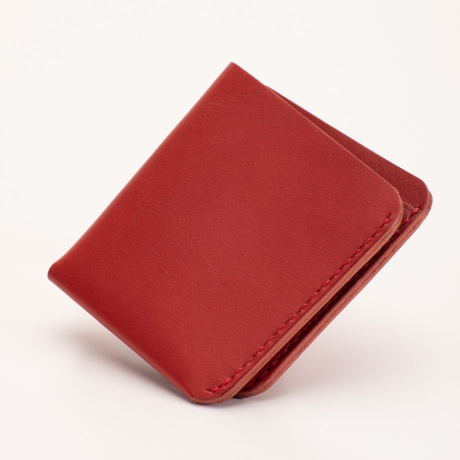 カード&お札ホルダー レッド
