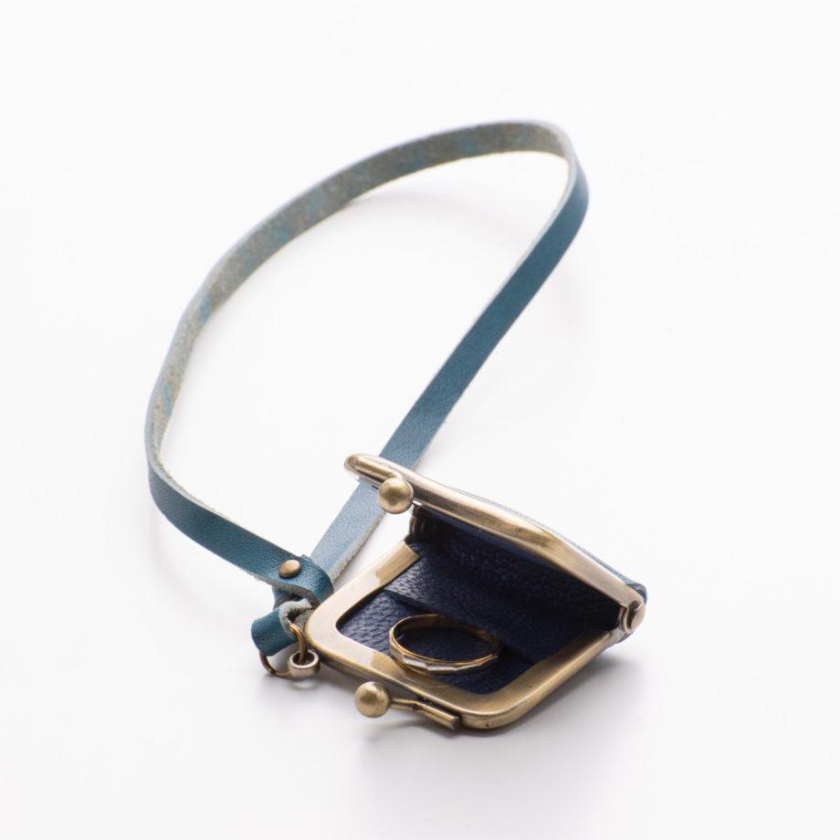 指輪ケース ブルー