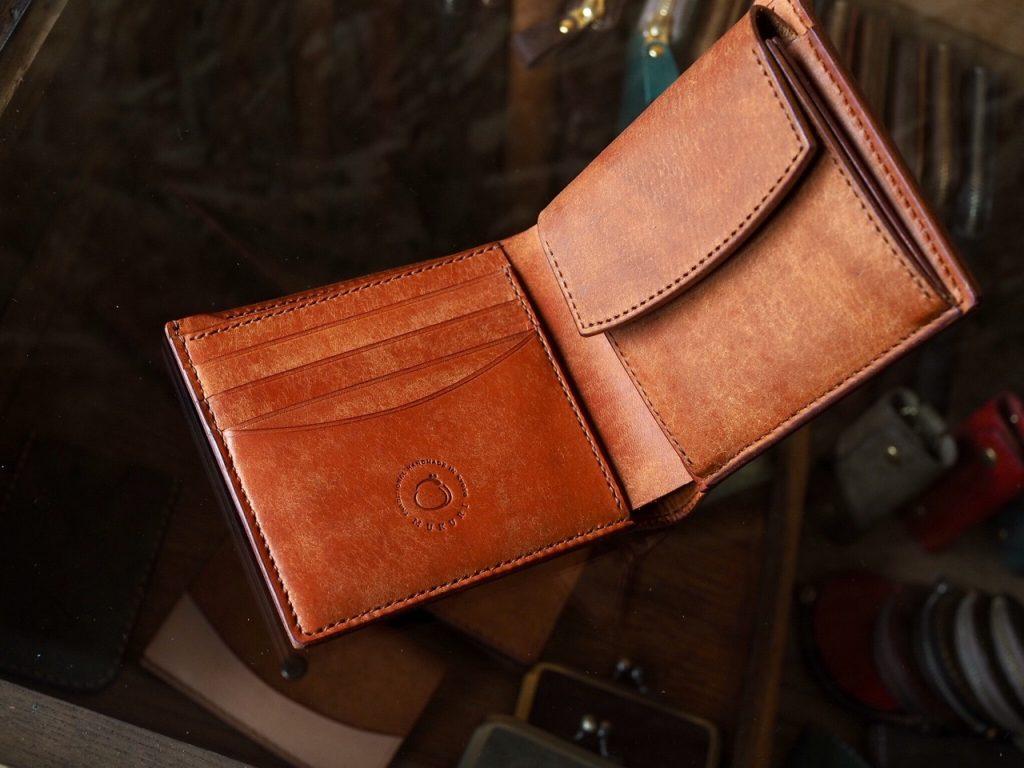 (オーダーメイド)フルプエブロレザー二つ折り財布
