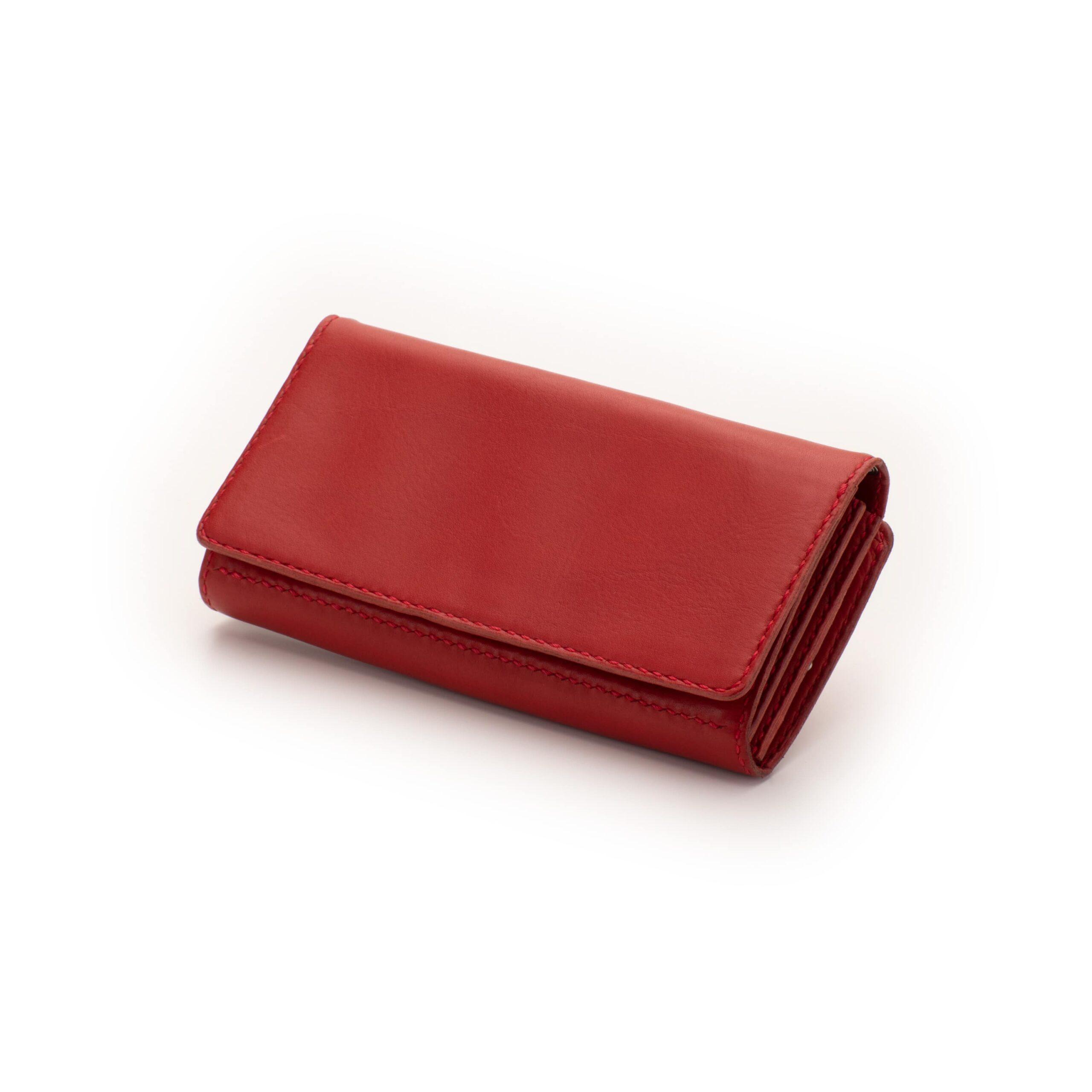 外がま口 長財布