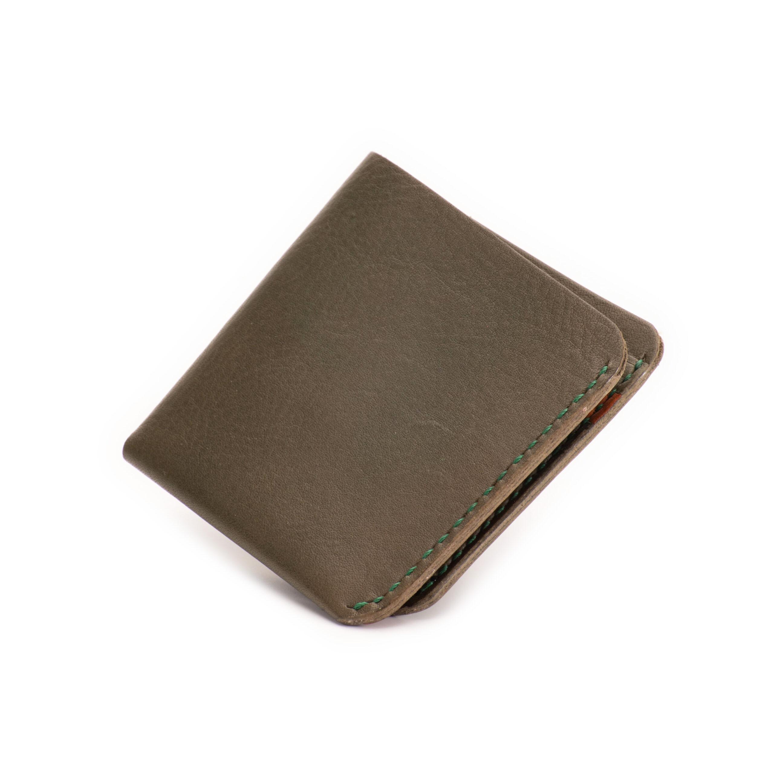 カード&お札ホルダー むくり グリーン
