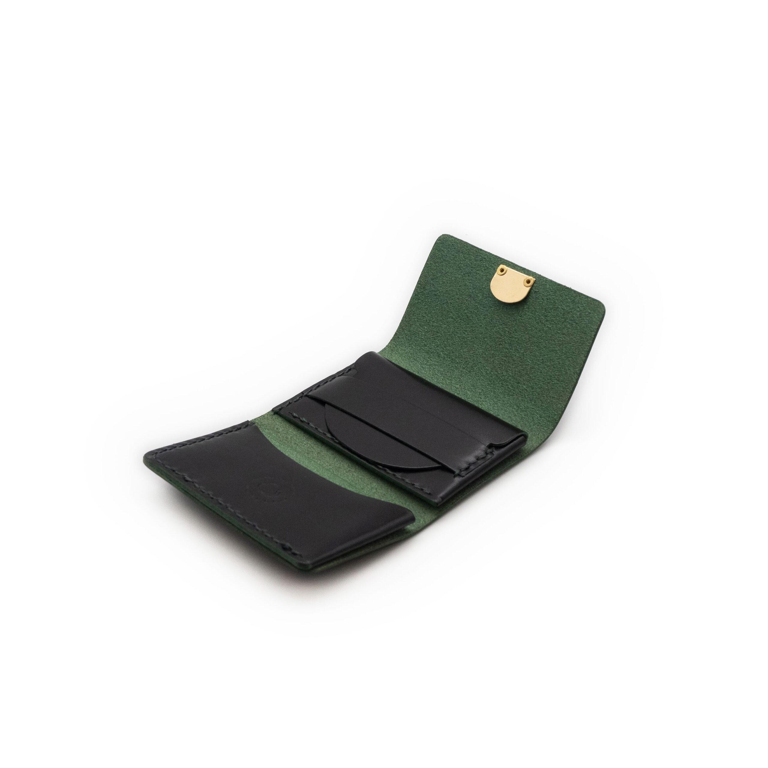 三つ折りコンパクト グリーン